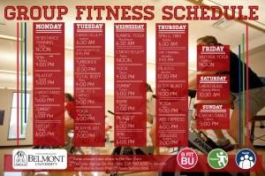 fall group fitness schedule- FIXED