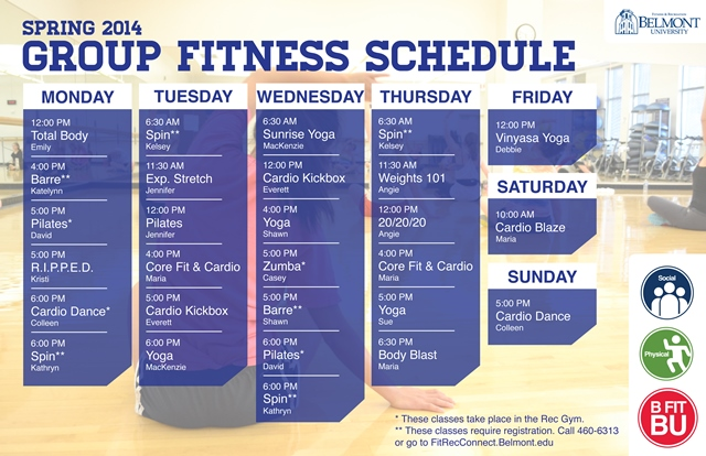 BFit BU News and Information from Department of Fitness and Recreation