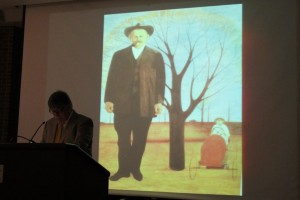 Leu Art Gallery Art historian and writer Richard Gruber gives a lecture on paintings, lithographs and drawings by the late Carroll Cloar on April 12.