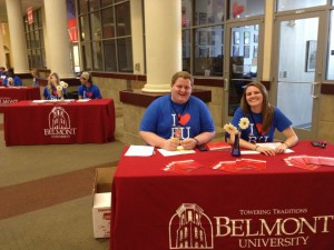 Welcome to our incoming students and their families that are visiting for summer orientation. We hope you enjoy your first taste of life at Belmont!