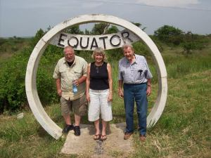 Bob, Ruby, Carl at Equator.jpg