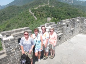 CHS faculty Great Wall