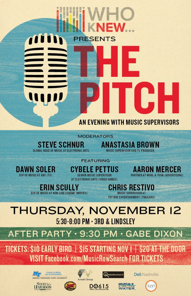Who Knew Presents: The Pitch, an Evening with Music