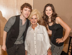 Striking Matches' Sarah Zimmerman and Justin Davis meet legendary artist Brenda Lee.
