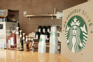 belmont proudly brews starbucks
